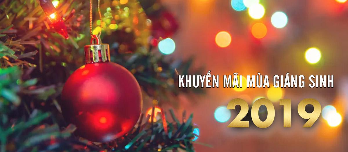 Khuyến Mãi Mùa Giáng Sinh 2019