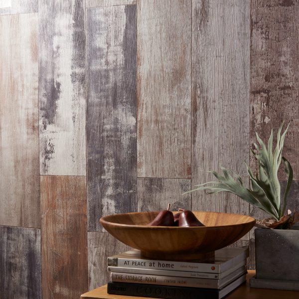mẫu giấy dán tường phòng khách vân gỗ BB1556
