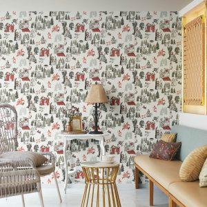 Giấy dán tường phòng khách đẹp BB1248